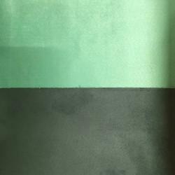 Tessuto Similpelle vellutato Termomodellabile 50x70cm bifacciale verde chiaro/scuro