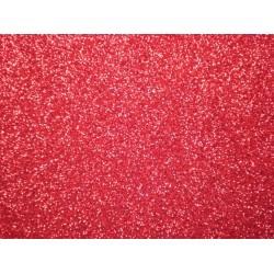 Foglio Gomma Crepla Glitter Rosso 20x30cm