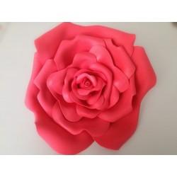 VIDEO CORSO rosa grande gomma eva diam. 30cm