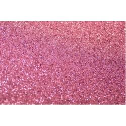 Foglio Gomma Crepla Glitter Rosa 20x30
