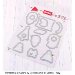 Set Fustelle Impronte D'autore Natale in famiglia