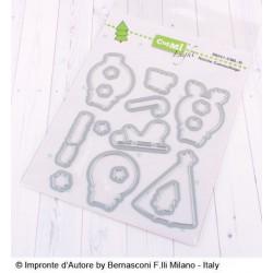 Set Fustelle Impronte D'autore Natale Camouflage