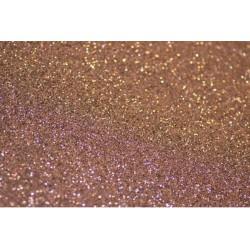 Foglio Gomma Crepla Glitter Marrone 20x30