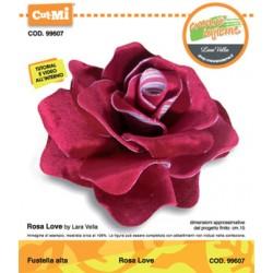 Fustella Cut-Mi Impronte D'autore Rosa Love