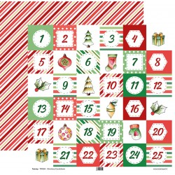 Tommy double face paper – Christmas Countdown