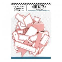 Etichette ROSE CORAIL Florileges Design