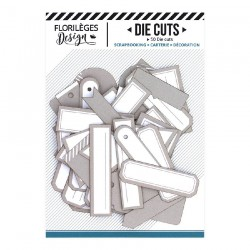 Etichette BEIGE ANGORA Florileges Design