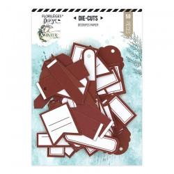 Etichette ROUGE CARMIN Florileges Design