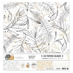 Kit Calques Florileges Design OR SAISON (vellum)
