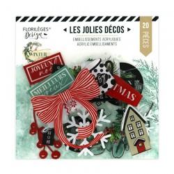Décos Acryliques OH WINTER Florileges Design