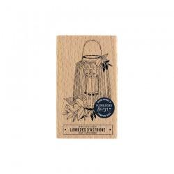 Timbro di legno Florileges Design - LANTERNE AUTOMNALE