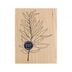 Timbro di legno Florileges Design - FEUILLE AU VENT