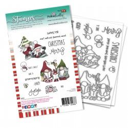 Timbro Polkadoodles Gnomeazing Christmas