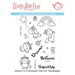 Set timbri Time for Tea Unicorn In Training
