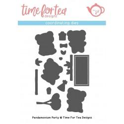 Set fustelle Time For Tea Pandamonium Party