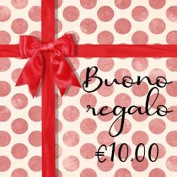 BUONO REGALO €10