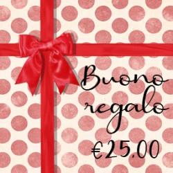 BUONO REGALO €25
