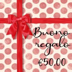 BUONO REGALO €50