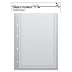 Xcut A4 Storage Folder Wallets A4 - 5 Fogli raccoglitore