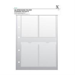 Xcut A4 Storage Folder Wallets A6 (4 tasche) - 5 Fogli raccoglitore