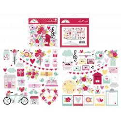 """Love Notes - Doodlebug set 12x12"""""""
