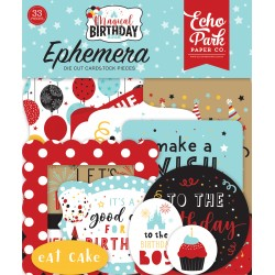 Echo Park Magical Birthday Boy Ephemera