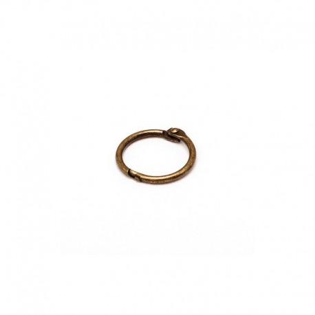2 Anelli bronzo per ring album 25mm - Binder ring