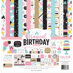 Echo Park Magical Birthday Girl 12x12 Inch Collection Kit