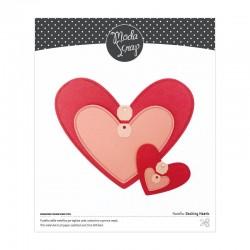FUSTELLA MODASCRAP - DASHING HEARTS