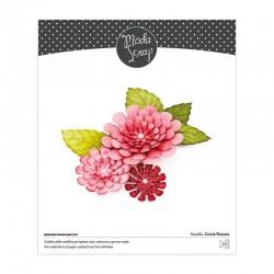 FUSTELLA MODASCRAP - ZINNIA FLOWERS