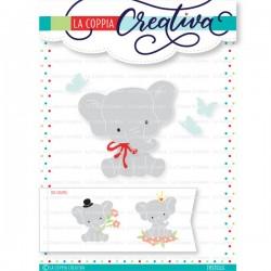 FUSTELLA LA COPPIA CREATIVA - SLIMLINE CARDS