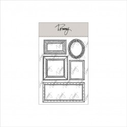 Tommy clear stamps – Decorative frames