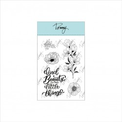 Tommy clear stamps – Lovely flowers by Lettersofme