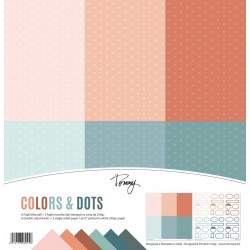 Tommy paper pack – Colors & Dots