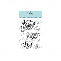 Tommy clear stamps – Spring time by Lettersofme