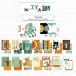 Set di carte Project Life - You rock - DIY and Cie