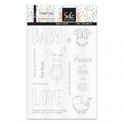 Timbri Clear Stamps Sokai - SO'BB 'Baby love'