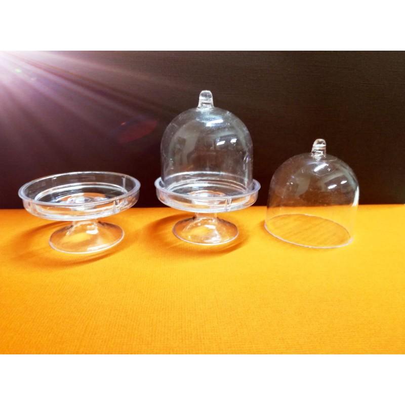 Alzatina in plexiglass 8cm