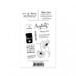 Timbri Clear Stamps Béatrice Garni - Un si beau moment