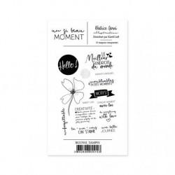 Timbri Clear Stamps Béatrice Garni - Un si beau moment 1