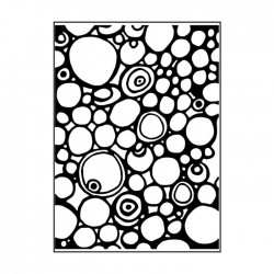 Embossing Folder Carabelle Studio - circles and dots