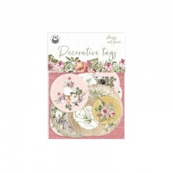 P13 PIATEK DECORATIVE TAGS ALWAYS AND FOREVER 01 9PCS