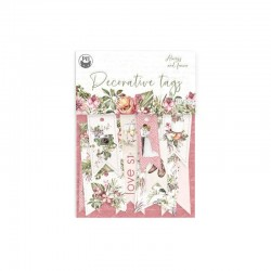 P13 PIATEK DECORATIVE TAGS ALWAYS AND FOREVER 02 10PCS