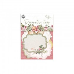 P13 PIATEK DECORATIVE TAGS ALWAYS AND FOREVER 04 6PCS