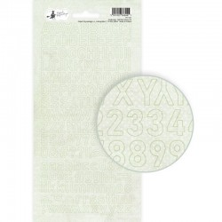 P13 PIATEK ALPHABET STICKER SHEET AWAKENING 01 10,5 X 23CM