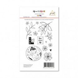 Timbri Clear Stamps PaperNova Design - Life in Color