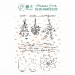 Timbri Clear Stamps HA-PI Little Fox - Jolis bouquets