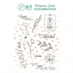 Timbri Clear Stamps HA-PI Little Fox - L'essentiel