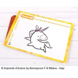 Timbri Impronte D'autore  Sologomma Unicorno