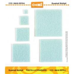 Fustella Cut-Mi Impronte D'autore Quadrati Multipli